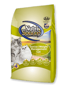 Nutrisource Senior / Weight Management Cat 6.6lb