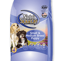 Nutrisource Small and Medium Breed Puppy Dog Food 30LBS