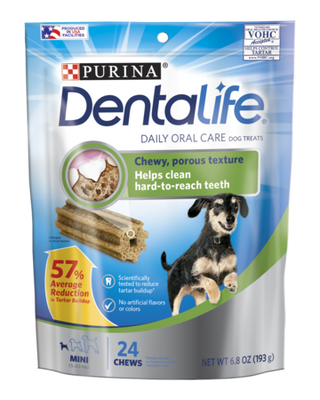 Purina DentaLife Daily Oral Care Chew Treats