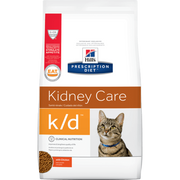 Hill's Prescription Diet k/d Feline (Dry and Canned food)