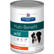 "Hill's® Prescription Diet® w/d® Multi-Benefit Canine ""6 PACK"""