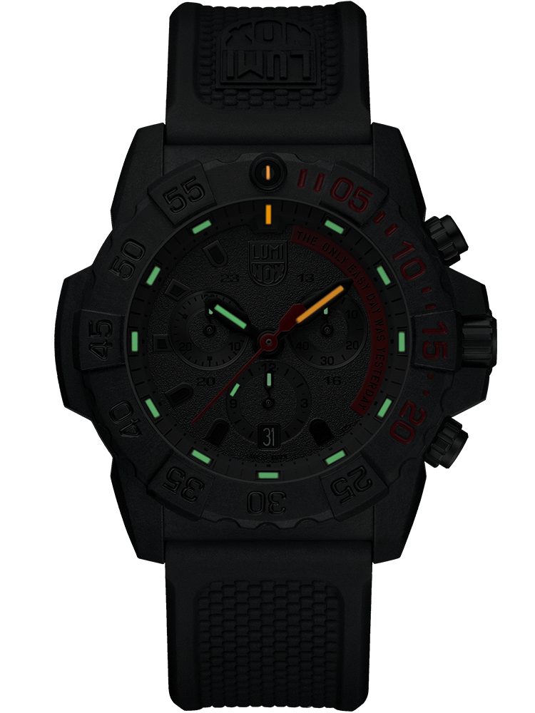 Navy SEAL Chronograph - Red
