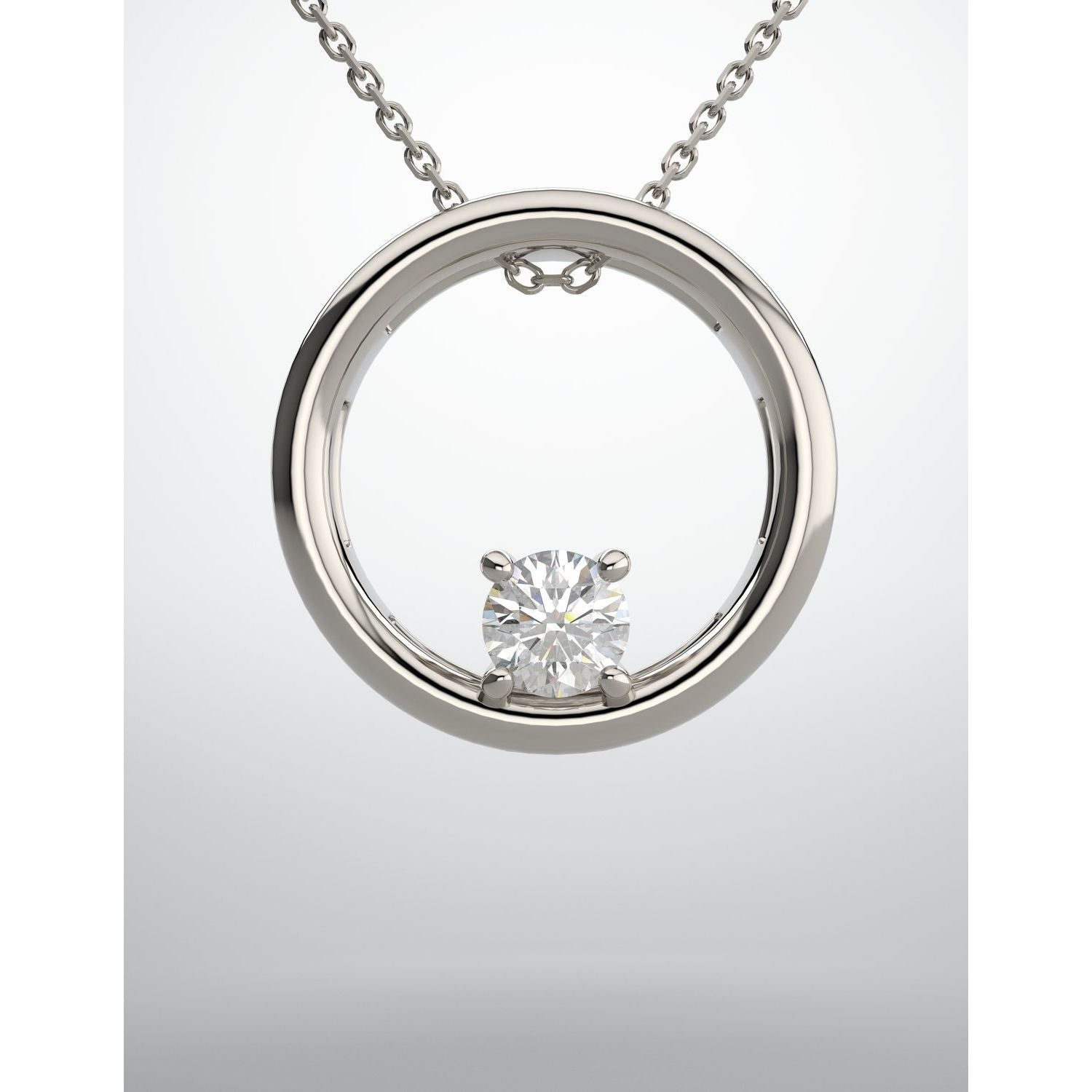 Lab-Grown Diamond Necklace