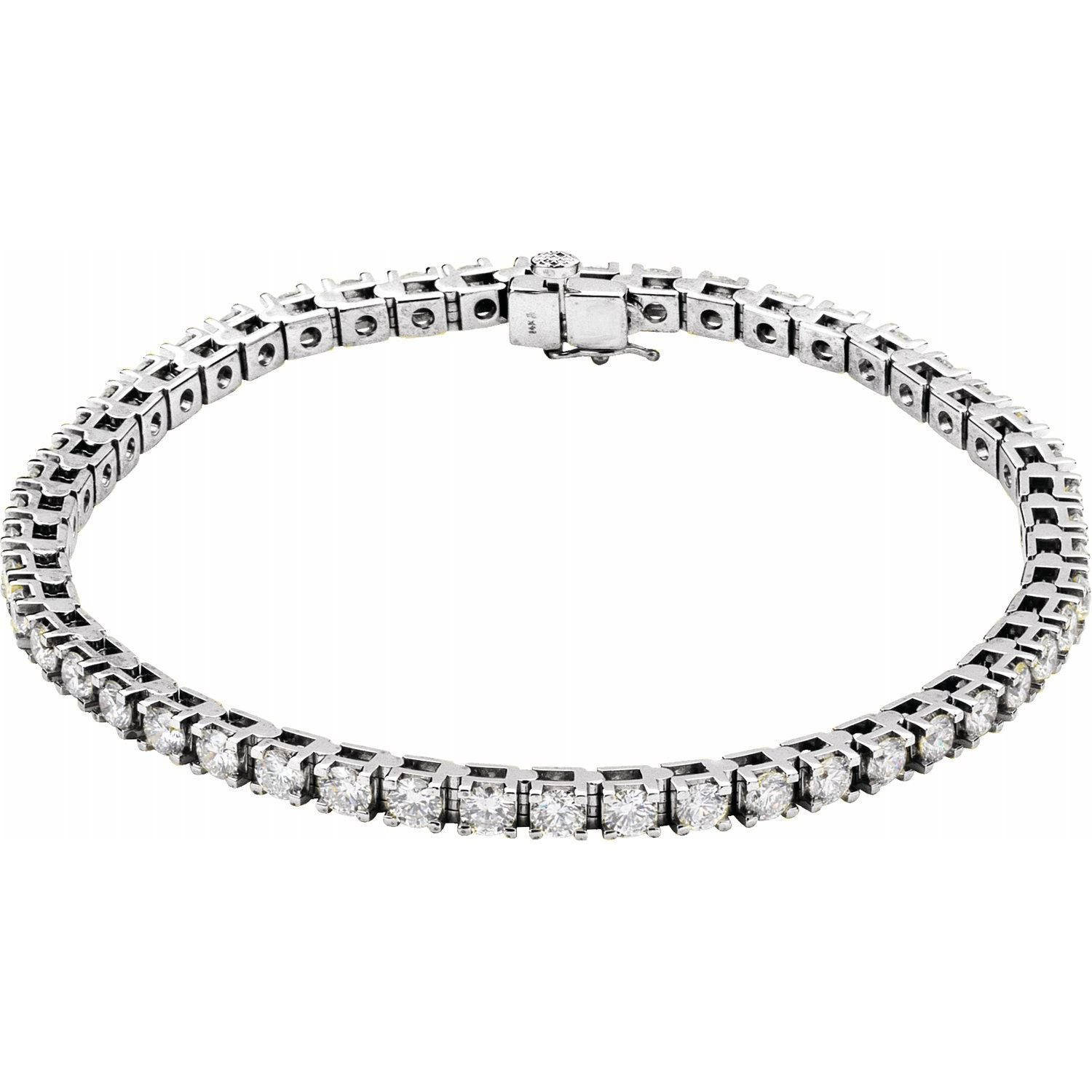 5 CTW Lab-Grown Diamond Tennis Bracelet