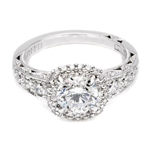 Crescent Halo Tacori Mount