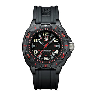 Sentry Black Dial With Red Markings