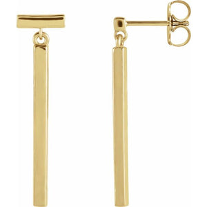 Articulated Bar Earrings