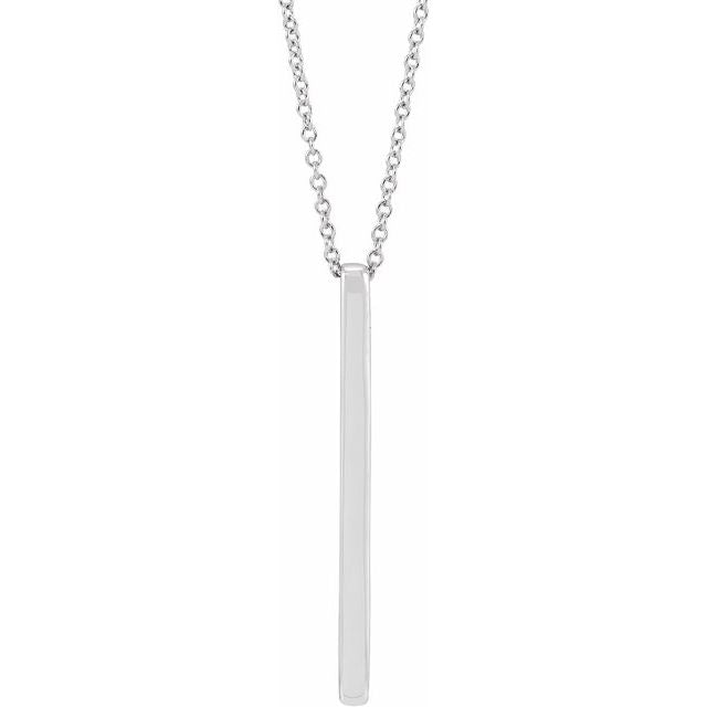 "Bar 20"" Necklace"