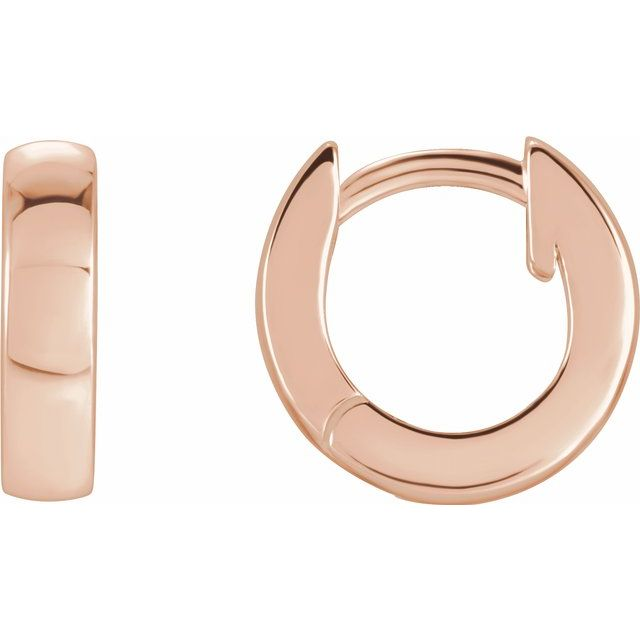 Hinged Hoop Earrings