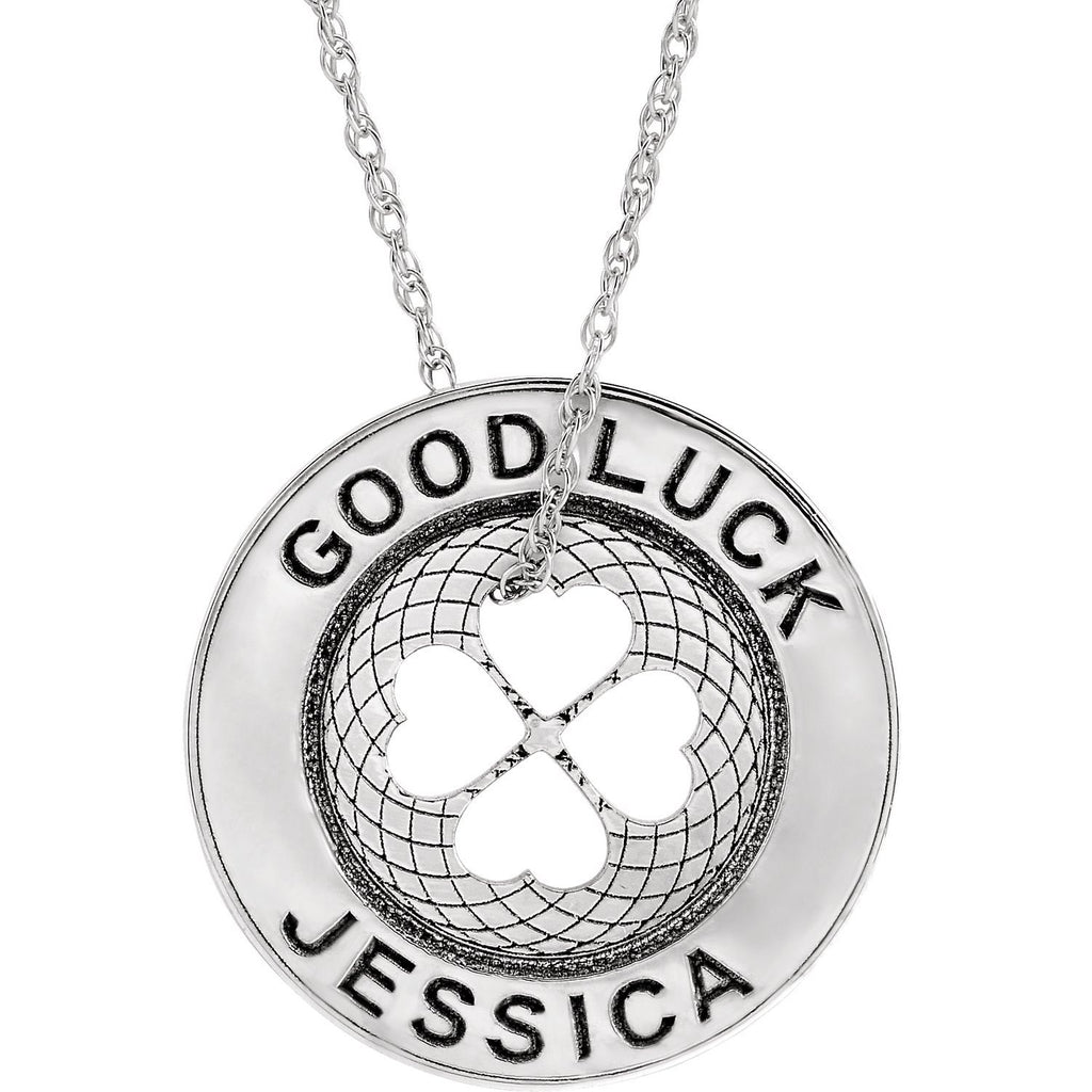 Good Luck Token Necklace