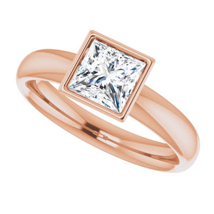 Square Engagement Ring