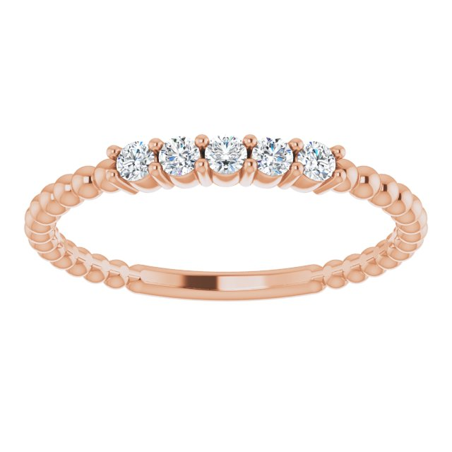Lab-Grown Diamond Stackable Ring