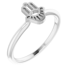 Hamsa Stackable Ring