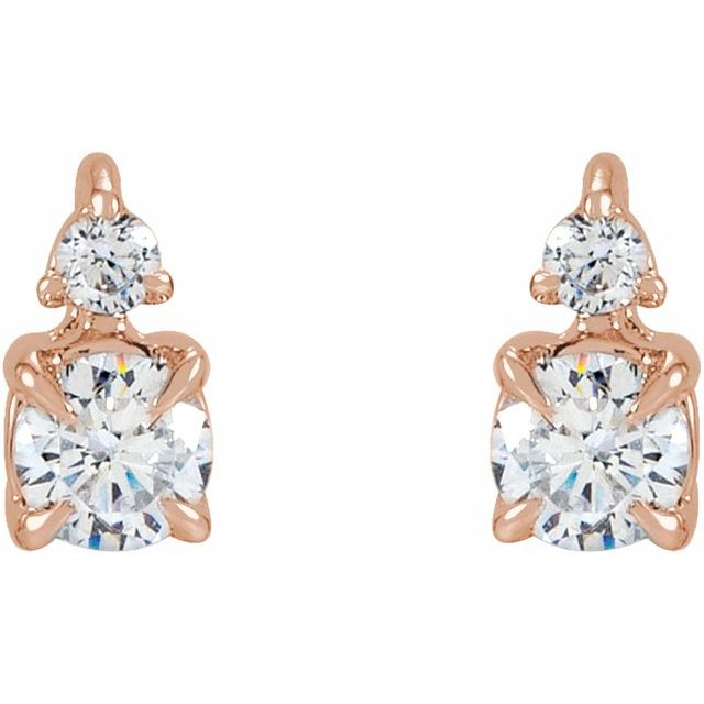 Lab-Grown Diamond Earrings