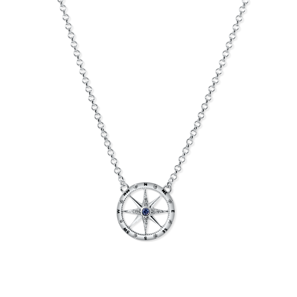 Compass Rose Necklace