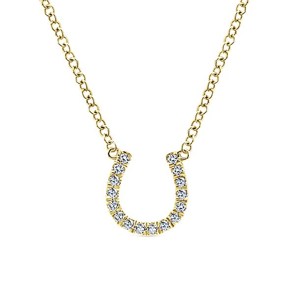 Yellow Gold Fashion Necklace
