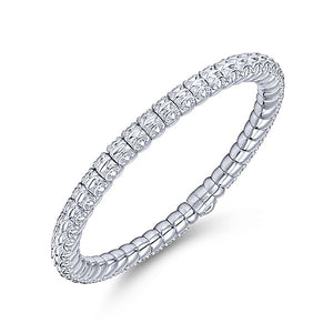 Silver/Stainless Steal Bangle