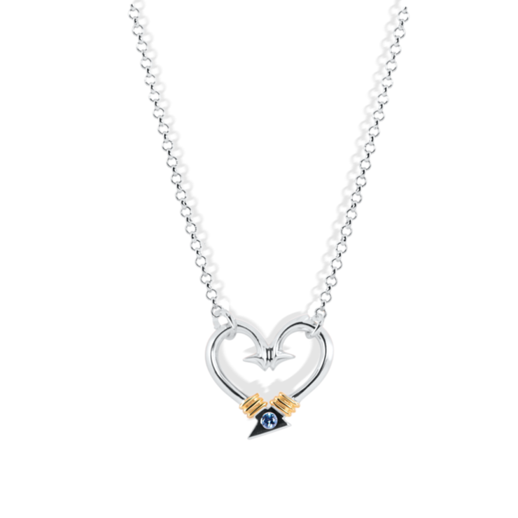 Hook Heart Necklace (Large)