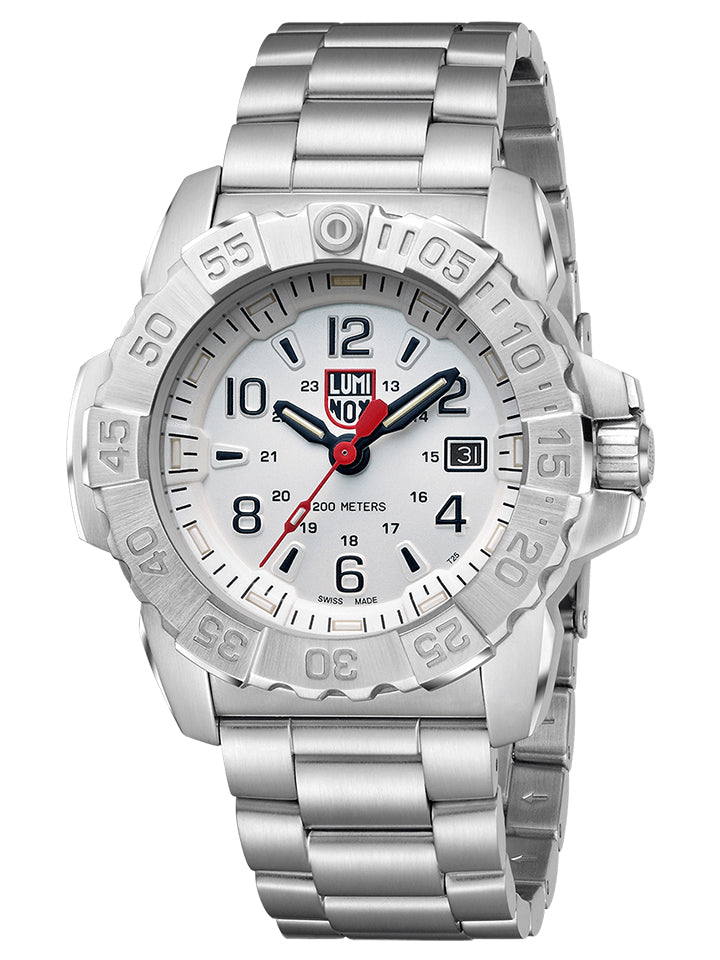 Navy Seal Steel - White Dial