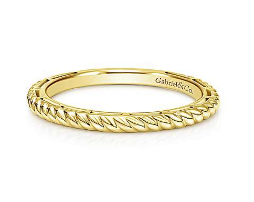 Yellow Gold Fashion Ladies Ring