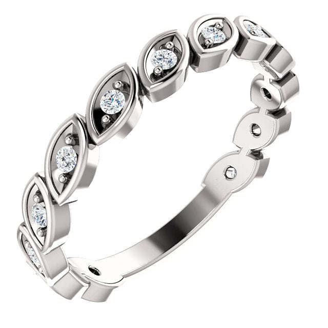 Lab-Grown Diamond Anniversary Band