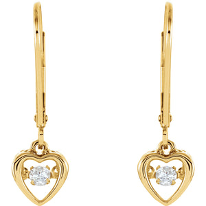 Diamond Heart Mystara® Earrings