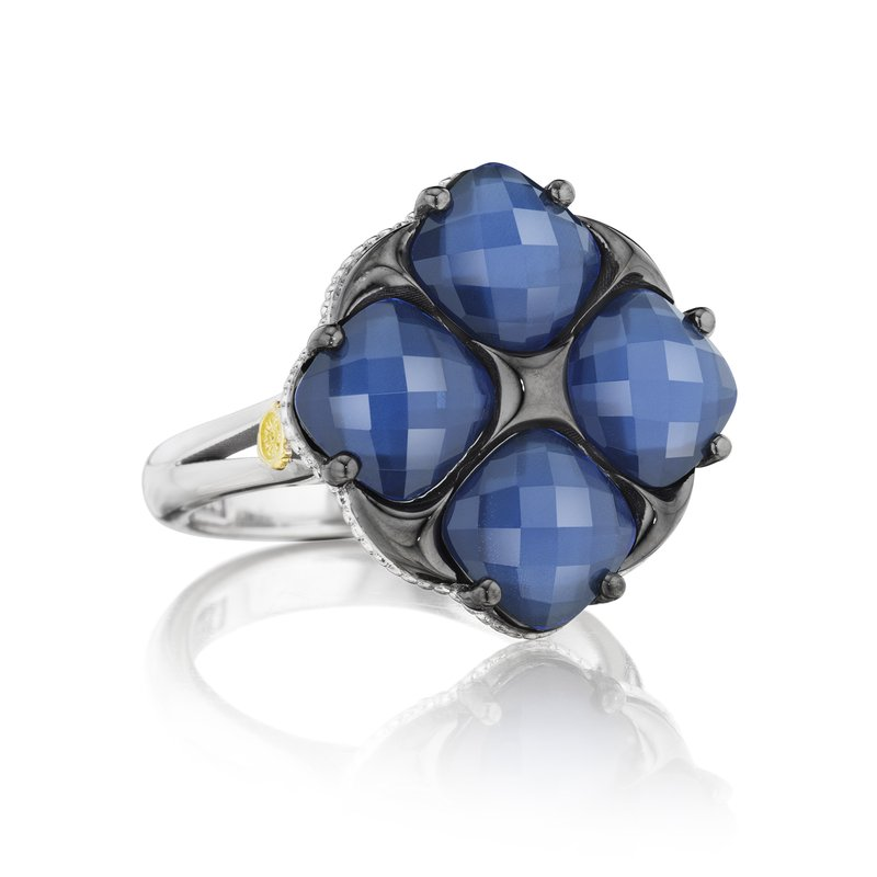 City Lights - GEM TILT RING