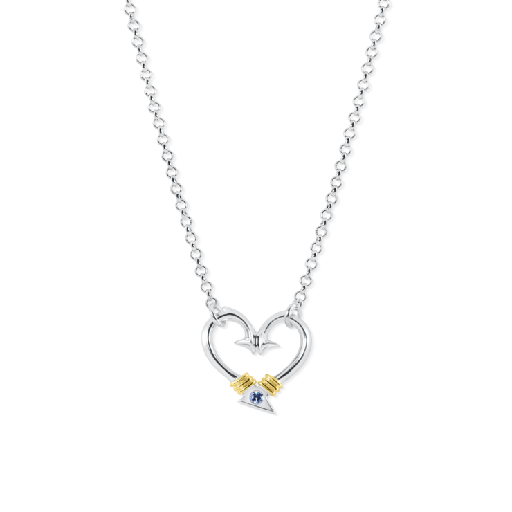 Hook Heart Necklace (Small)