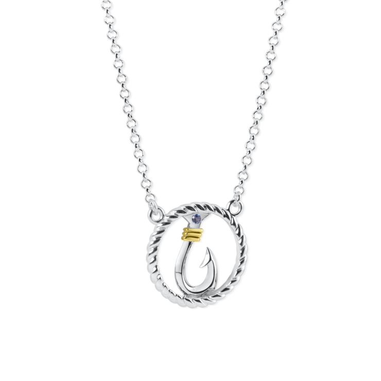 Hook Circle Rope Necklace