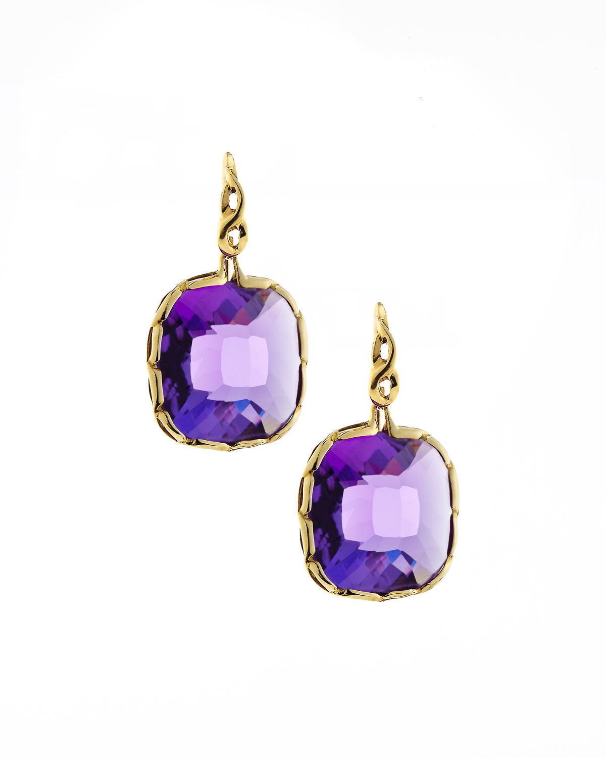 Ipanema Amethyst Drop Earrings