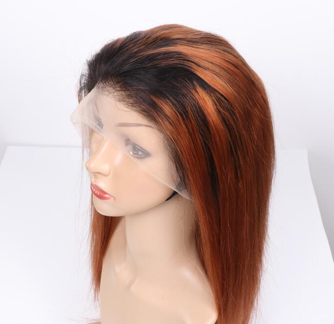 New Arrival T1B/27 Ombre Color Lace Frontal Wig 12-26Inch, 180% Density