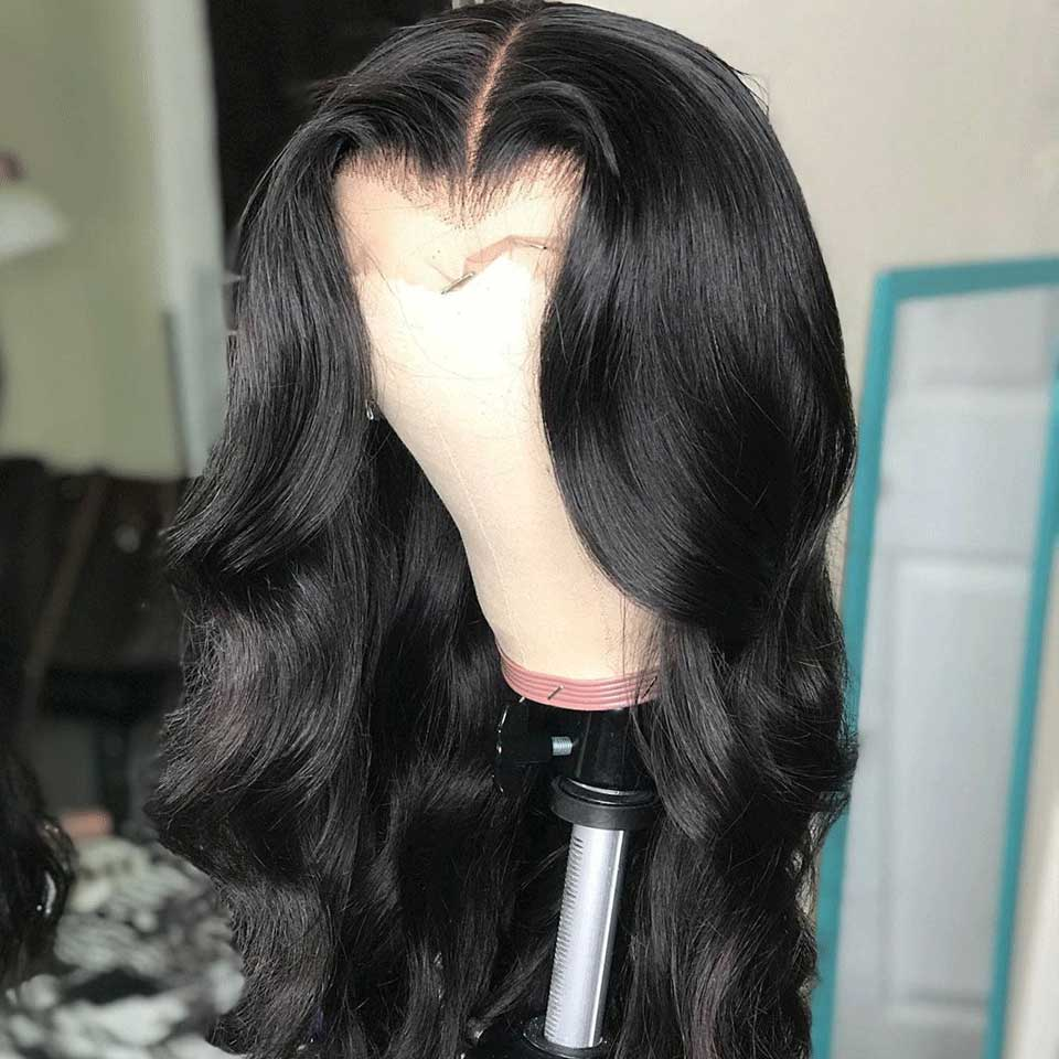 Arabella Body Wave Free Part 13x4 Inch Lace Frontal Wig 100% Human Hair Wig With Baby Hair 210% Density
