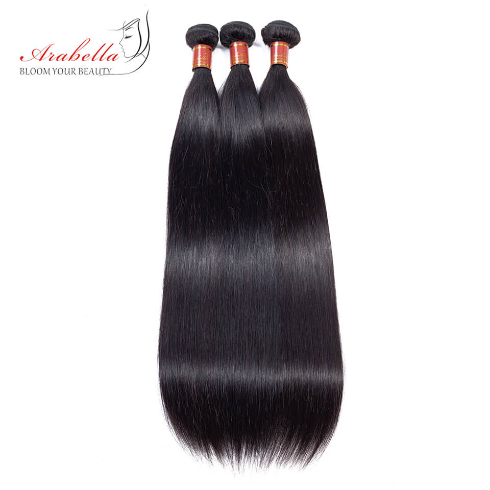 Indian Unprocessed Virgin Straight Hair 3 Bundles