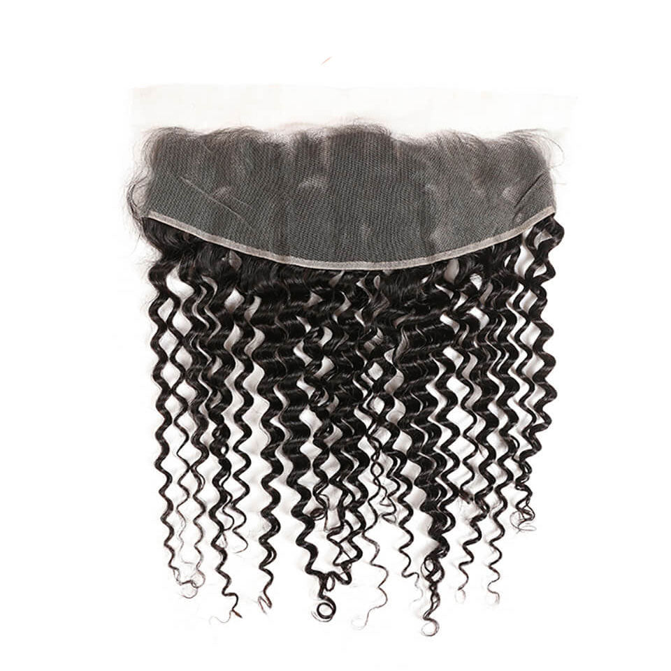 15A Mink Hair Double Drawn Raw Virgin Human Hair Weaves Deep Wave 3 Bundles with  Frontal Closure - arabellahair.com