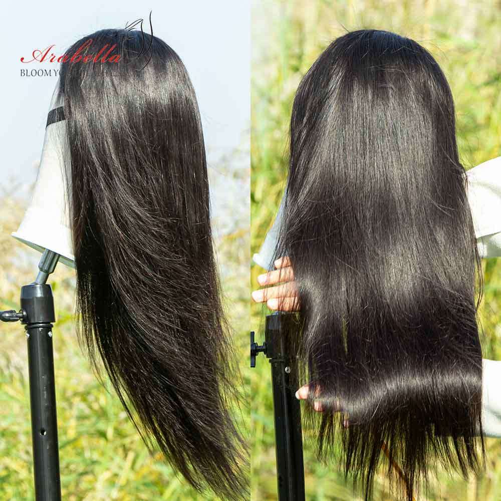 New Arrival Arabella Human Hair Wigs 6X6 Straight Lace Wig On Sale 180% Density