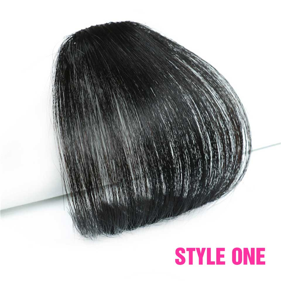 Air Bangs Clip In Bangs Front Neat Bangs Fringe Hair Women Clip In Hair clip Extension--NO Shipping ,Need GO with Hair
