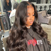 100% Human Hair Yaki 360 Lace Frontal Wig For Sale