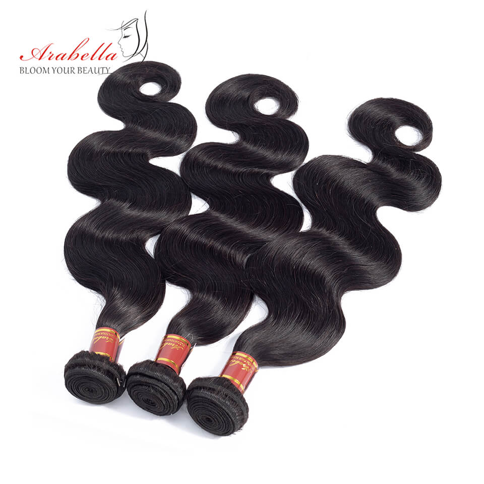 Malaysian Unprocessed Virgin Body Wave Hair 3 Bundles