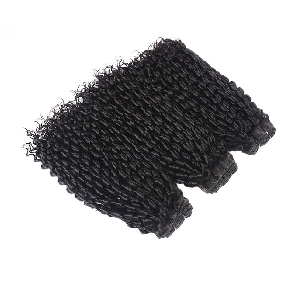 Funmi Hair Peruvian Telephone Curl  Unprocessed Virgin Funmi Hair 3 Bundles