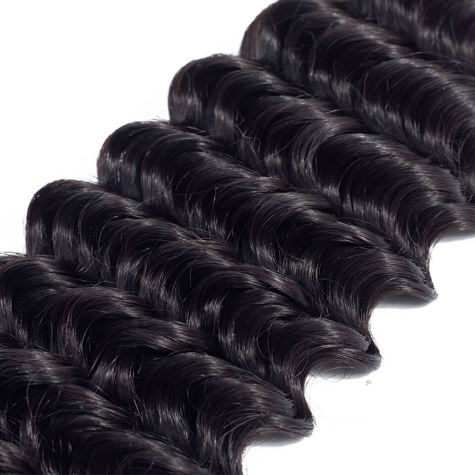 Deep Wave Human Virgin Hair 1 Bundle/pack