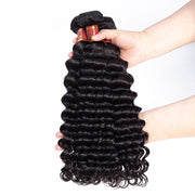 Peruvian Unprocessed Virgin Hair Deep Wave 3 Bundles