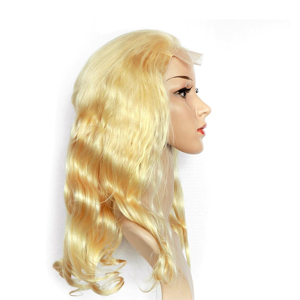 4*4 Lace Front Wig 613 Body Wave Human Hair Lace Wig,180% Density - arabellahair.com