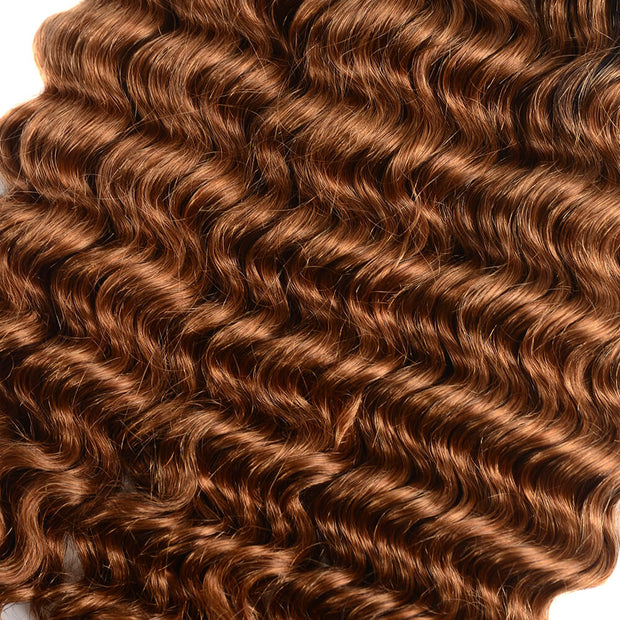 Brazilian Virgin Ombre T1b/30 Deep Wave 3 Bundles