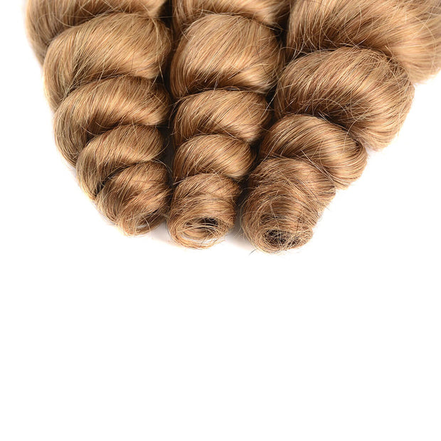 Brazilian Virgin Ombre T1b/27 Loose Wave 3 Bundles/pack