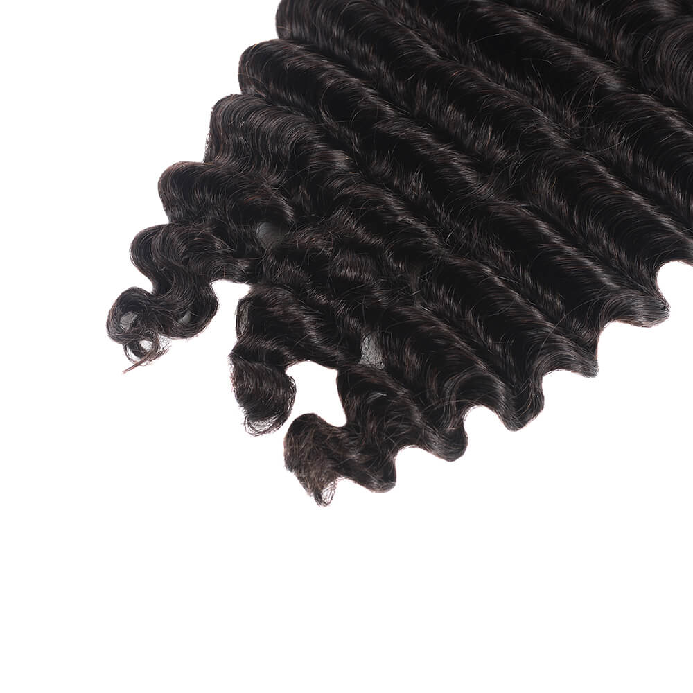 Peruvian Loose Deep Wave Human Hair 4 Bundles/Pack