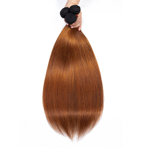 Arabella Hair Brazilian Ombre T1b/30 Virgin Straight 3 Bundles/pack