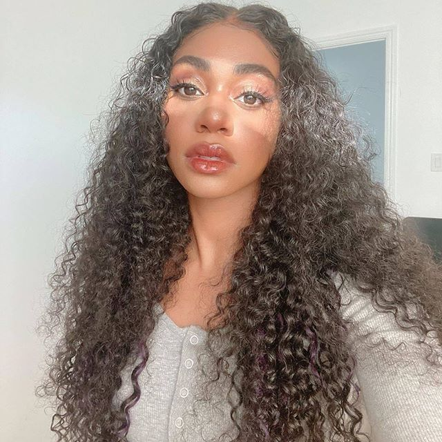 Arabella Human Hair Wigs  Jerry Curly Wave 4*4 lace Wig Sale Online 180% Density