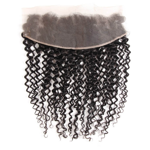 Arabella Human Virgin Hair Jerry Curly Hair Lace Frontal Hair Closure 1 Piece