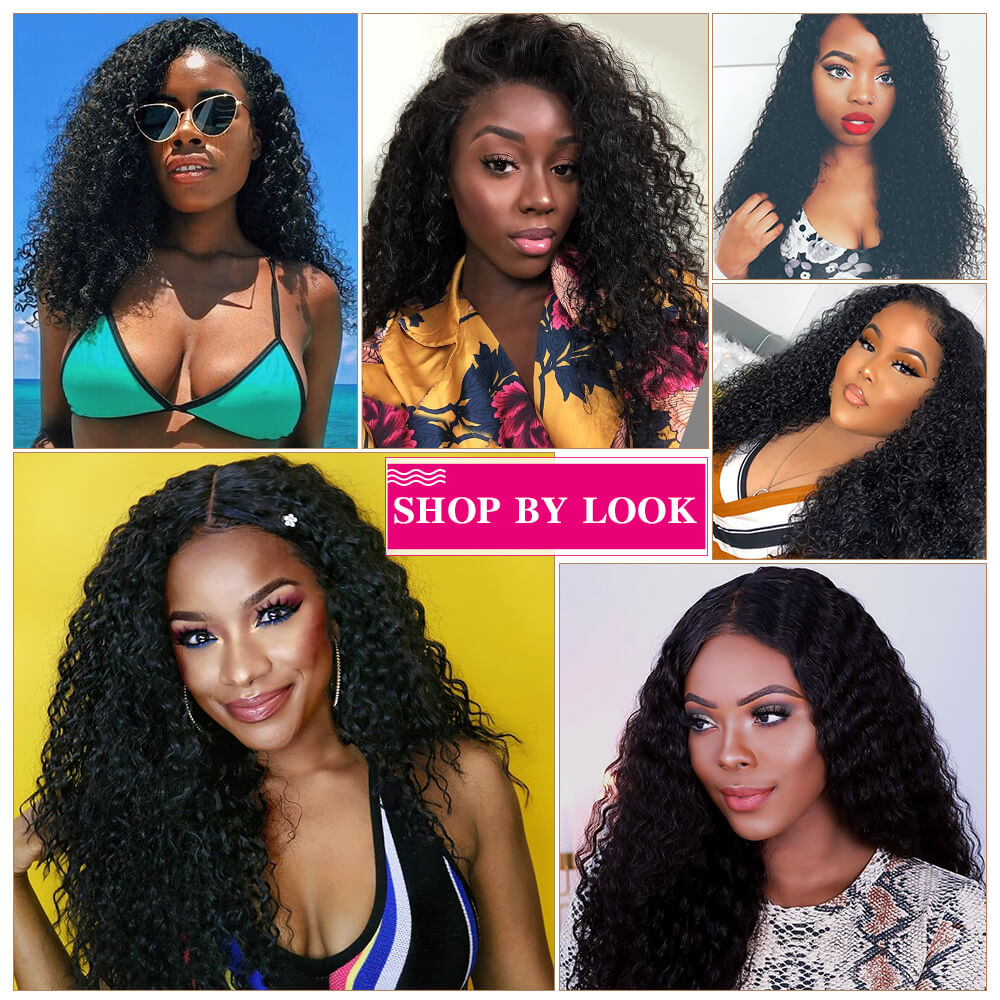 Arabella Human Hair Wigs Jerry Curly Full lace Wig 180% Density Sale Online