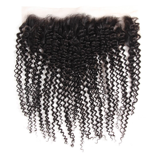 Arabella Human Virgin Hair Kinky Curly Hair Lace Frontal Hair Closure 1 Piece